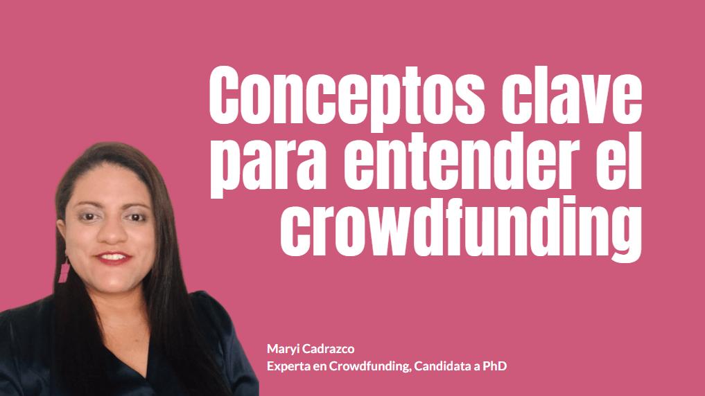 Portada del podcast: Conceptos clave para entender el crowdfunding
