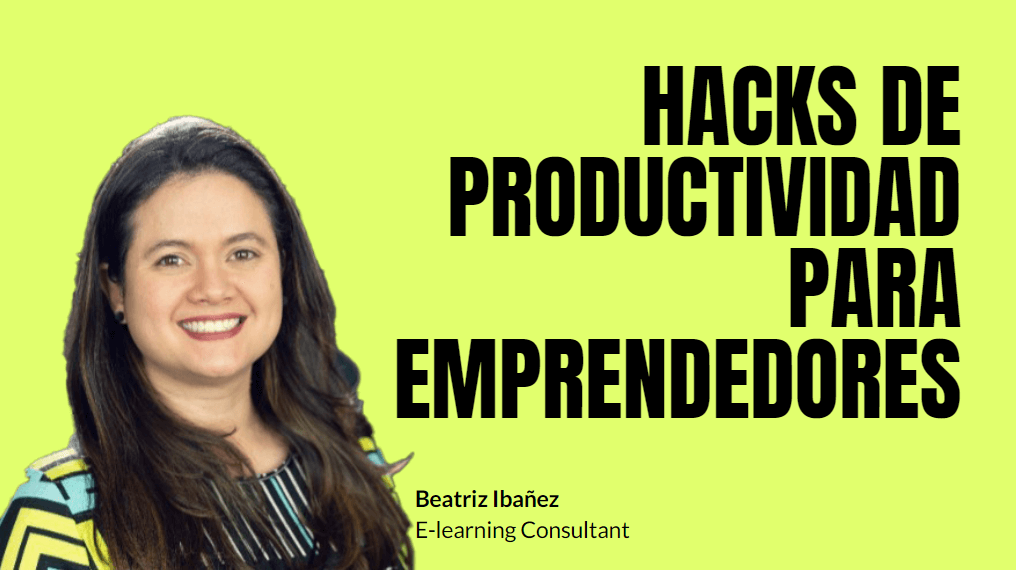 Portada del podcast: Hacks de productividad para emprendedores