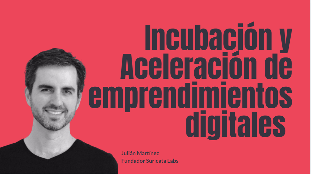 Portada del podcast: Incubación y aceleración de emprendimientos digitales