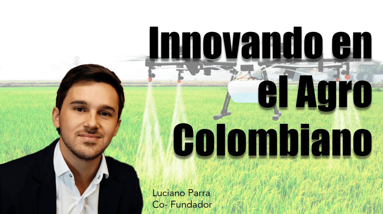 Portada del podcast: Innovando en el agro colombiano