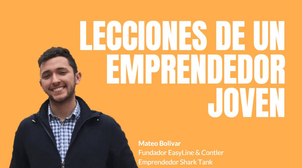 Portada del podcast: Lecciones de un emprendedor joven