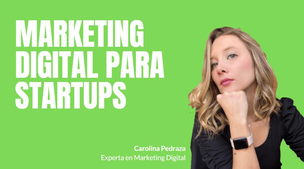 Portada del podcast: Marketing digital para Startups