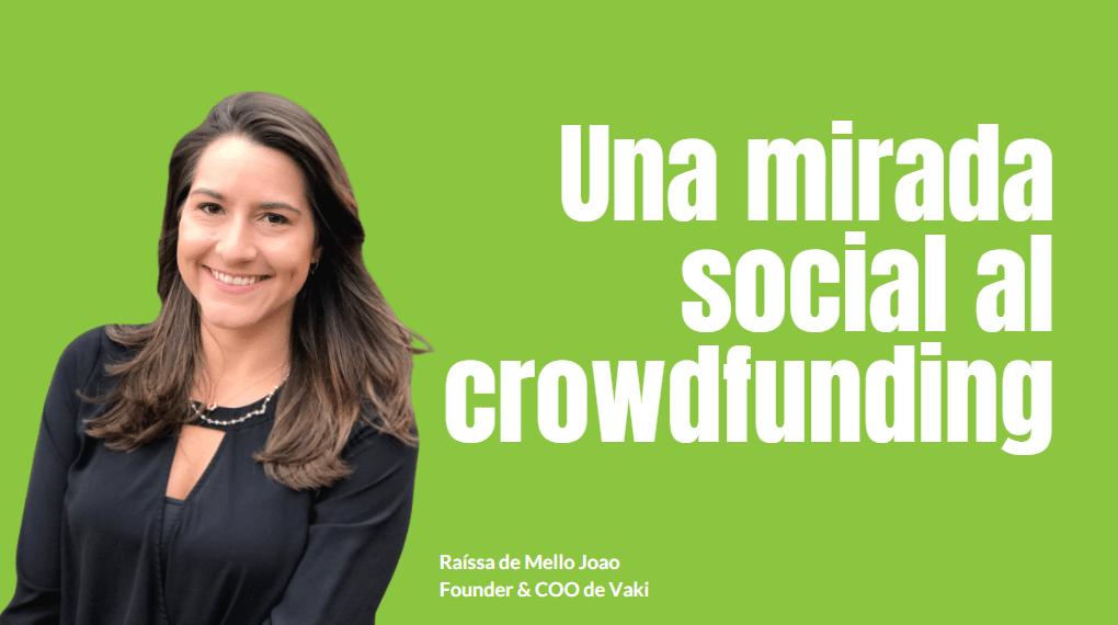 Portada del podcast: Una mirada social al crowdfunding
