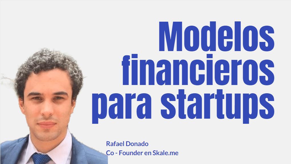 Portada del podcast: Modelos financieros para startups