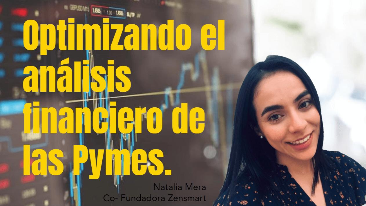 Portada del podcast: Optimizando el análisis financiero de las PyMES