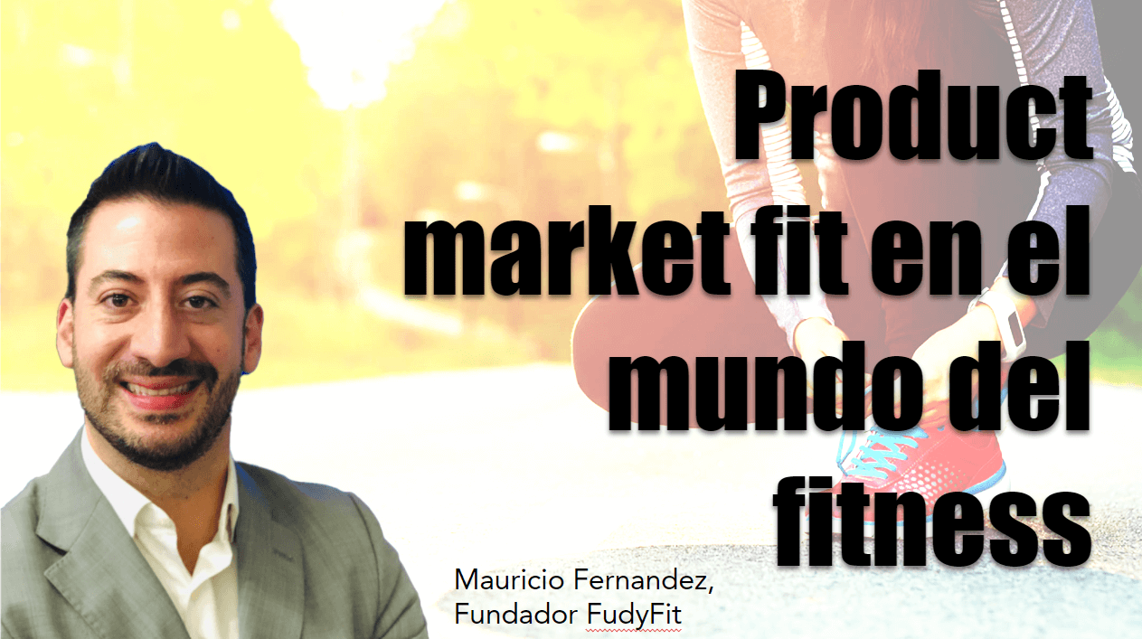 Portada del podcast: Product market fit en el mundo del fitness