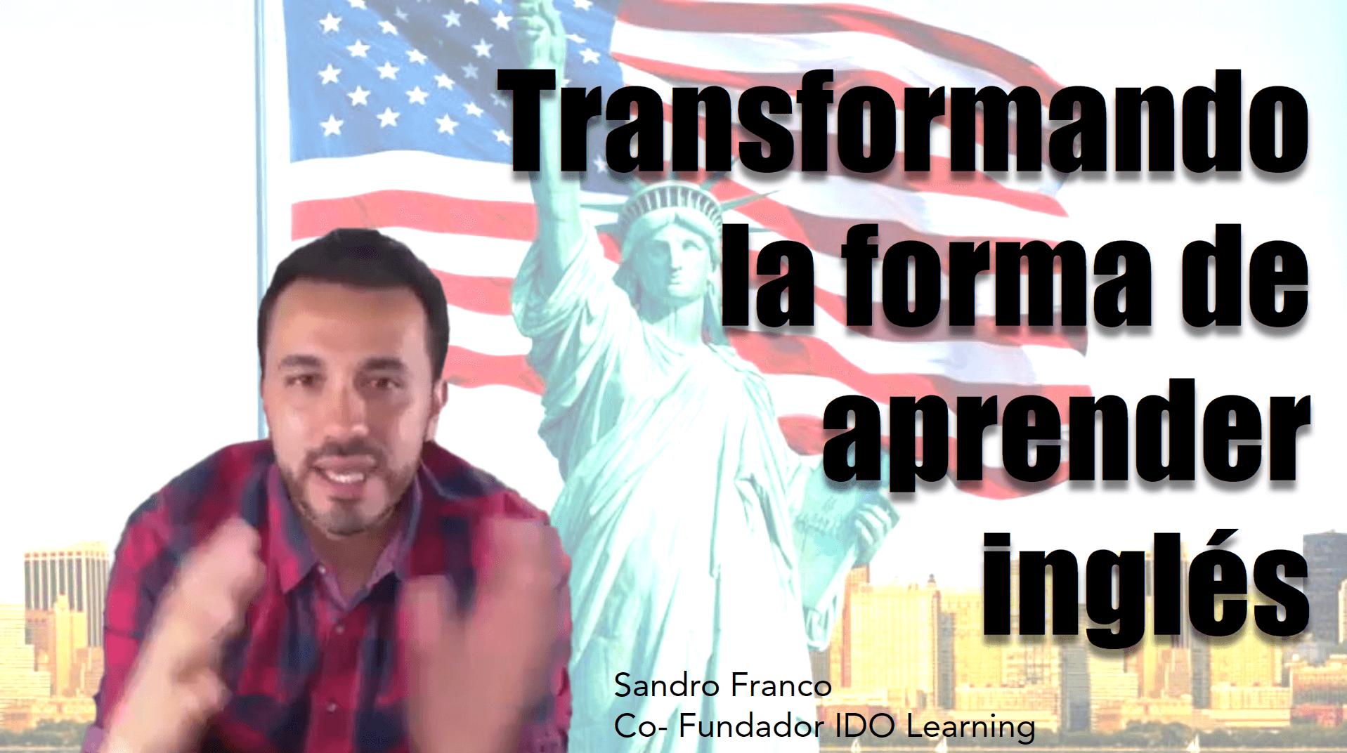 Portada del podcast: Transformando la forma de aprender inglés
