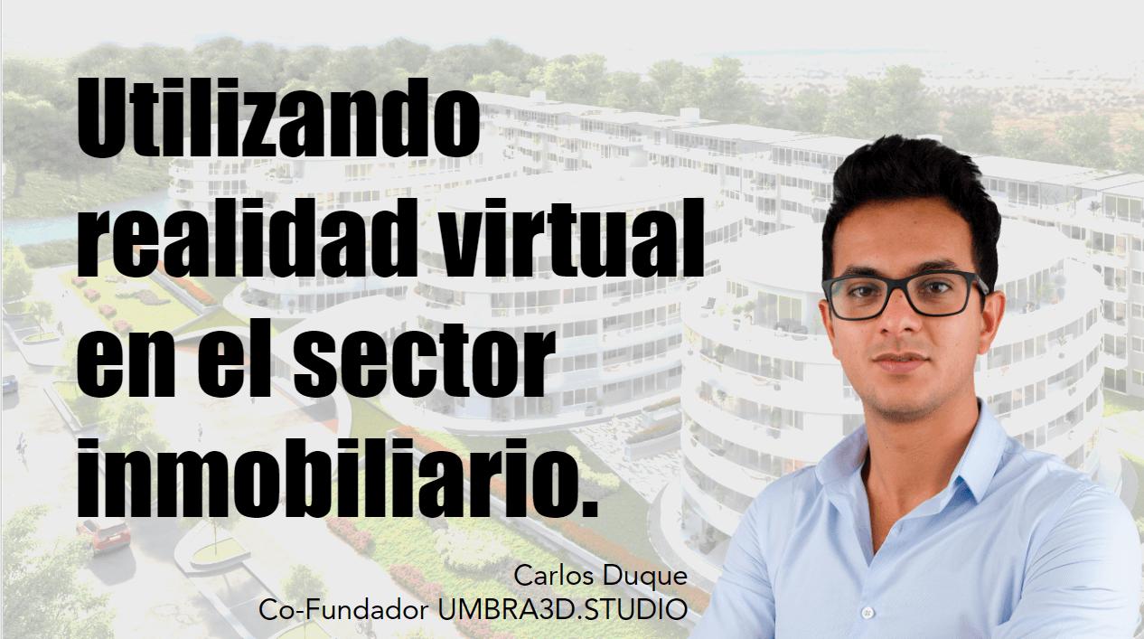 Portada del podcast: Utilizando realidad virtual en el sector inmobiliario
