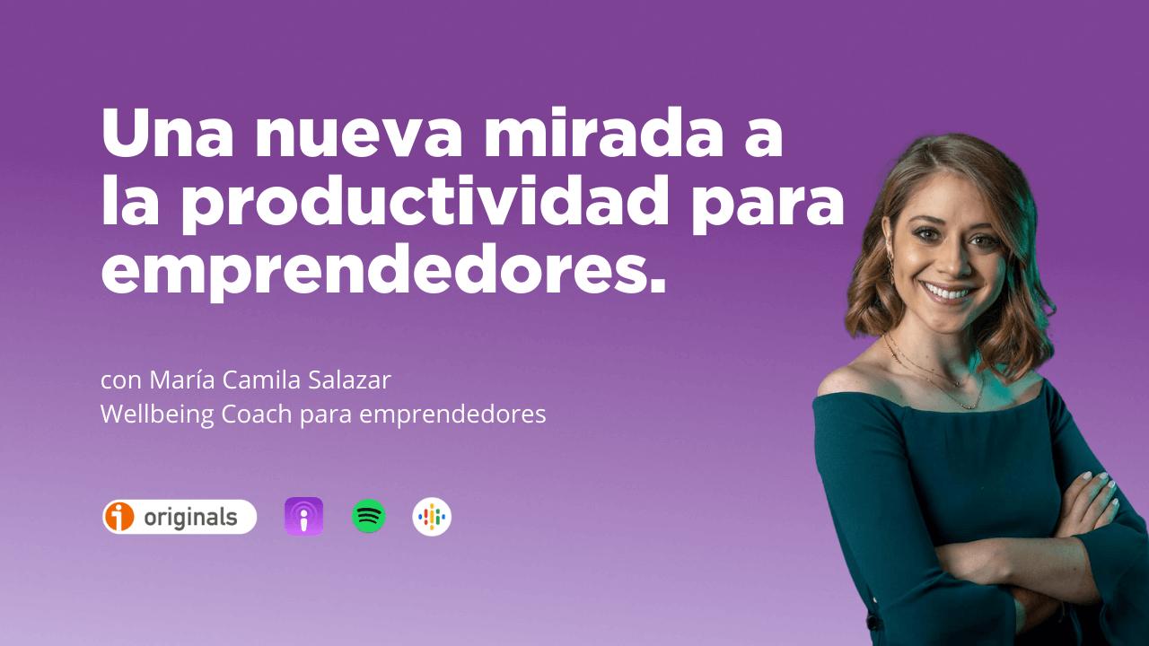 Imagen de María Camila Salazar - Wellbeing coach para emprendedores